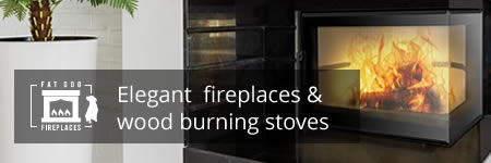 Fat Dog Fires - Contemporary fireplaces and wood burning stoves